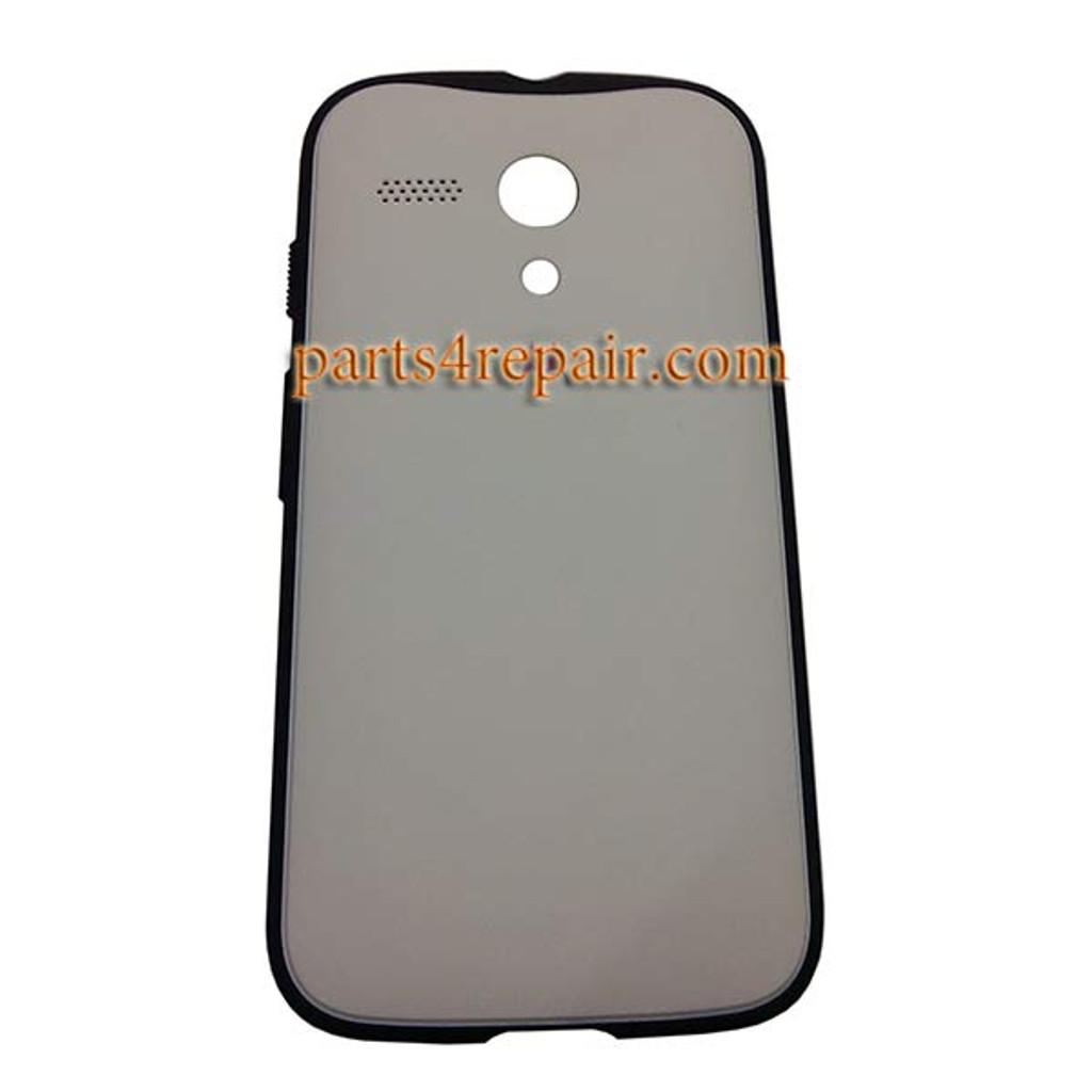 Grip Shell Protective Case for Motorola Moto G XT1032 -White