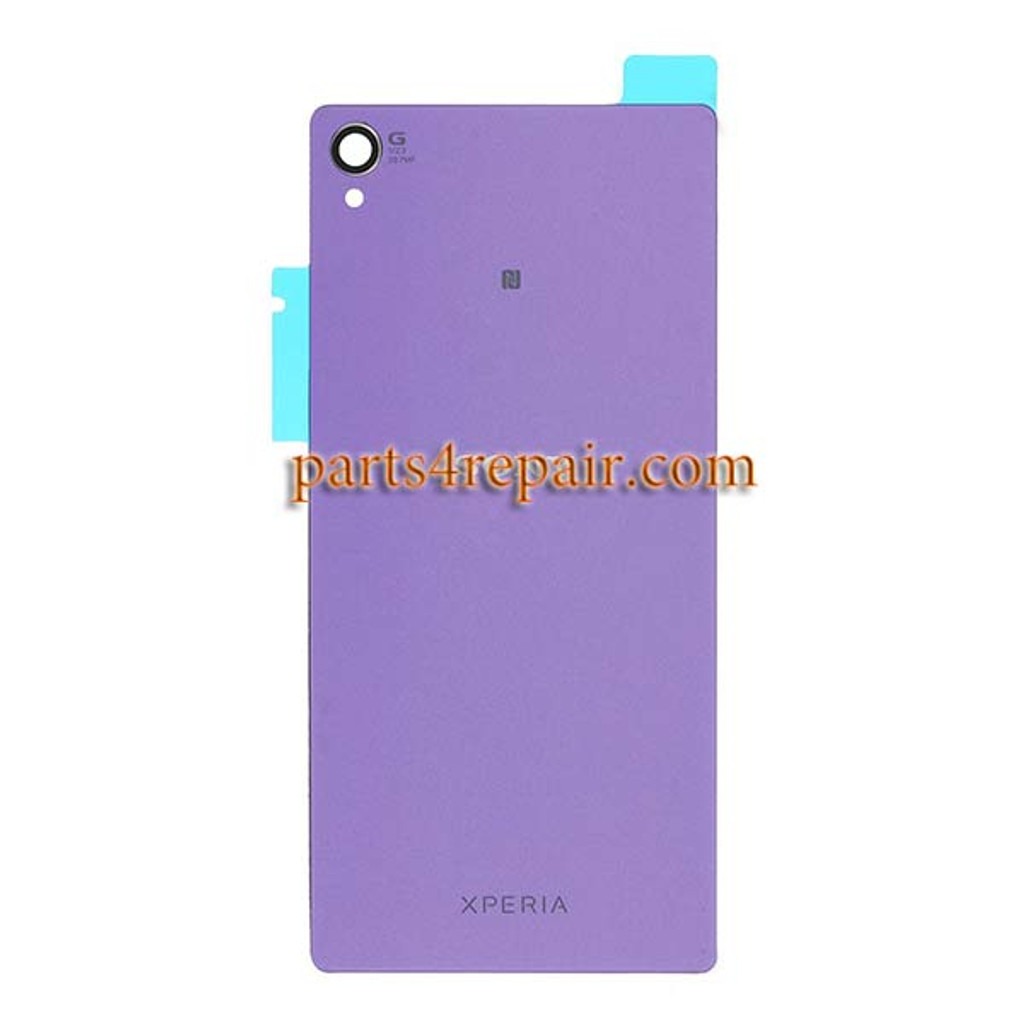 Generic Back Cover for Sony Xperia Z3 -Purple