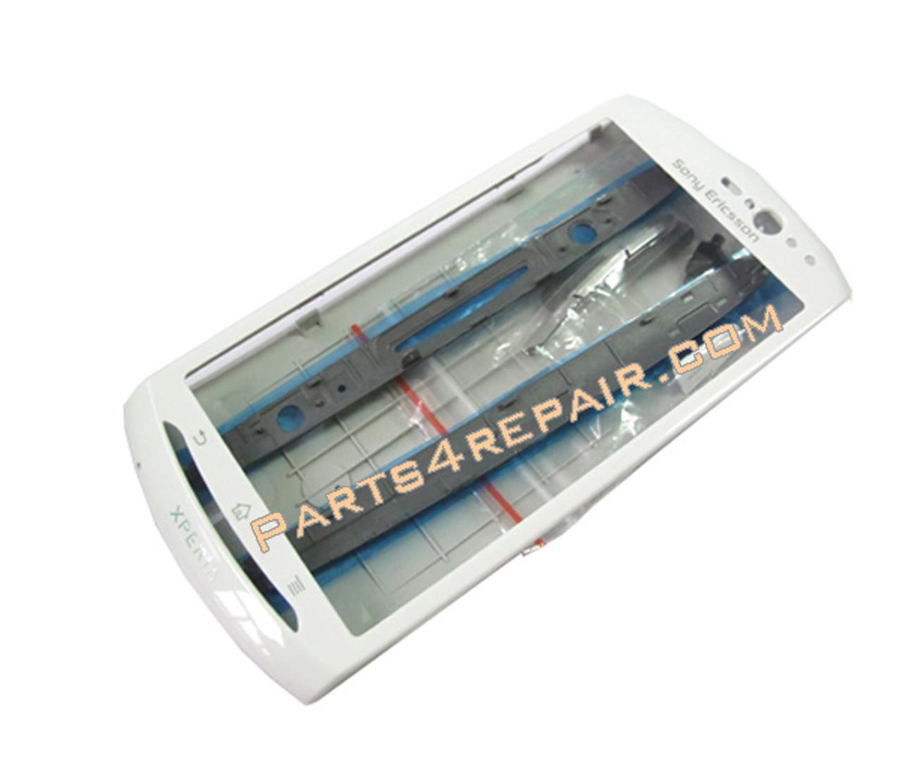 Full Housing Cover for Sony Ericsson Xperia Neo V -White ...  Full Housing Co...