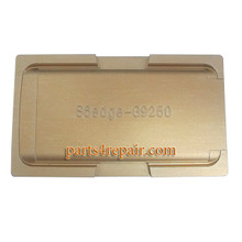 UV Glue Aluminum Alloy Alignment Mould for Samsung Galaxy S6 Edge G9250 All Versions LCD Glass