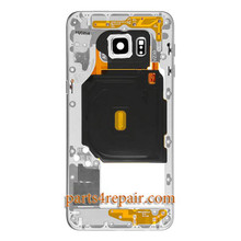 Middle Housing Cover for Samsung Galaxy S6 Edge+ G928V from www.parts4repair.com
