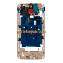 Middle Housing Cover for Motorola Moto X Style XT1572 XT1575 -Gold
