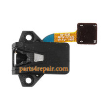 Earphone Jack Flex Cable for Samsung Galaxy Tab 4 8.0 T330 from www.parts4repair.com
