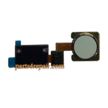 Fingerprint Button Flex Cable for LG V10 from www.parts4repair.com