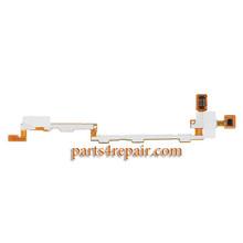 Side Key Flex Cable for Samsung Galaxy Tab 3 8.0 T310 T311 T315