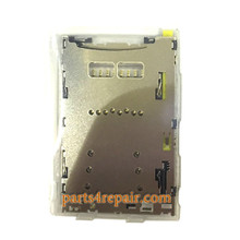 SIM Card Reader for Sony Xperia Z5 E6653 from www.parts4repair.com