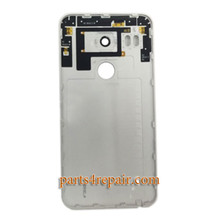 Generic Back Cover with Camera Lens for LG Nexus 5X H790 H791 -White