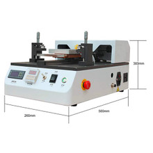 Semi Auto 7inch LCD Separator Machine Built-in Vacuum Pump for Separate Assembly Split LCD Touch Screen Glass