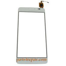 Touch Screen Digitizer for Alcatel Idol X + 6043D from www.parts4repair.com