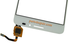 Touch Screen Digitizer for Alcatel Idol X + 6043D -White