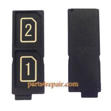 Dual SIM Tray for Sony Xperia Z5 / Sony Xperia Z5 Premium from www.parts4repair.com