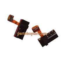 Earphone Jack Flex Cable for Huawei Honor 7I