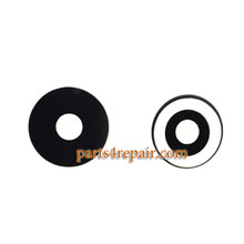 Camera Lens with Adhesive for Meizu M1 Metal