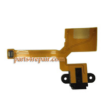 Earphone Connector Flex Cable for Microsoft Lumia 640 XL