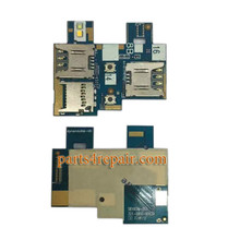 SIM Connector Flex Cable for Asus Zenfone Go ZB551KL from www.parts4repair.com