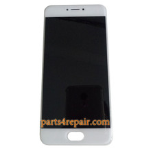 Complete Screen Assembly with Bezel for Meizu Pro 6 from www.parts4repair.com
