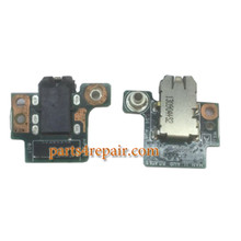 Earphone Jack Board for Acer Iconia Tab A1-810 from www.parts4repair.com