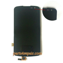 Complete Screen Assembly for LG K4 K130 from www.parts4repair.com