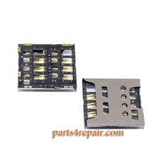 SIM Contact Connector for Sony Xperia SP M35H from www.parts4repair.com