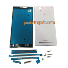 Full Housing Cover for Sony Xperia T2 Ultra Dual SIM