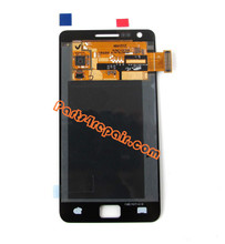 Complete Screen Assembly for Samsung I9100 Galaxy S II -Black