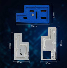 3D BGA Reball Stencil Grooved Tin Fixture for iPhone X