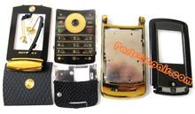 Motorola RAZR2 V8 Full Housing Cover (Gold Edition) from www.parts4repair.com