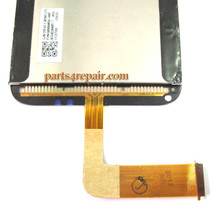 HTC Incredible S Complete Screen Assembly With Keypad Light Flex Cable