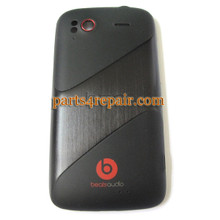 HTC Sensation XE Back Cove Black from www.parts4epair.com