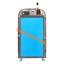Nokia C7 Touch Screen Digitizer With Front Housing Bezel