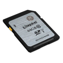 Kingston 64GB SDHC Class 10 Memory Card 80MB/S