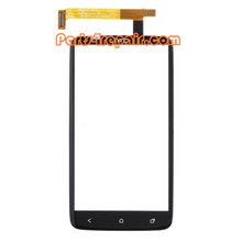 HTC One X Touch Screen with Digitizer from www.parts4repair.com