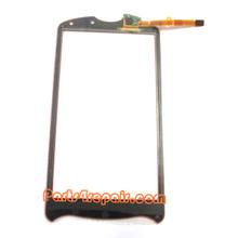 Touch Screen Digitizer for Sony Ericsson Xperia Pro -Red