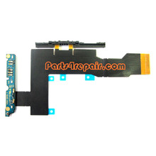 Sony Xperia S Flex Cable Ribbon with Function Board