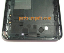 Back Housing Assembly Cover for Samsung P6200 Galaxy Tab 7.0 Plus-Black
