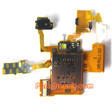 Sony Ericsson Xperia Ray ST18I SIM Holder Flex Cable from www.parts4repair.com