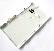 Back Cover for Sony Xperia acro S LT26W -White