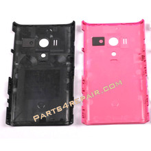 Sony Xperia acro S LT26W Back Cover -Pink from www.parts4repair.com