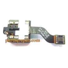 Samsung Galaxy Note 10.1 N8000 Earphone Jack Flex Cable