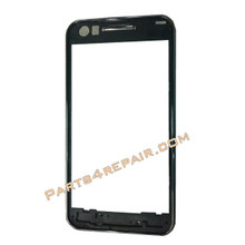 Samsung I8530 Galaxy Beam Front Cover -Black