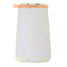 Touch Lens for Samsung I9500 Galaxy S4 -White from www.parts4repair.com
