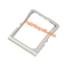 SIM Tray for HTC One M7 -White from www.parts4repair.com
