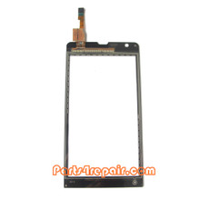Touch Screen Digitizer OEM for Sony Xperia SP m35h -Black