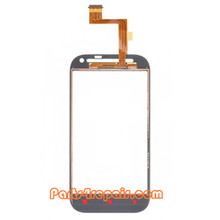 We can offer Touch Screen Digitizer for HTC One SV -White