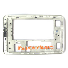 Front LCD Bezel for Samsung Galaxy Tab 2 7.0 P3100 -White from www.parts4repair.com