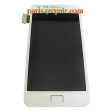 Complete Screen Assembly for Samsung I9105 Galaxy S II Plus -White