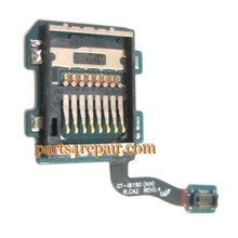 SIM Holder Flex Cable for Samsung I8190 Galaxy S III mini from www.parts4repair.com
