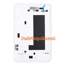 Back Cover for Samsung Galaxy Tab 7.0 P3100 -White