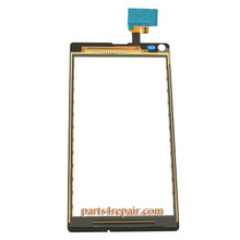 We can offer Touch Screen Digitizer for Sony Xperia L S36H -White