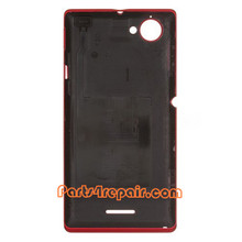 We can offer Back Cover for Sony Xperia L S36H -Red